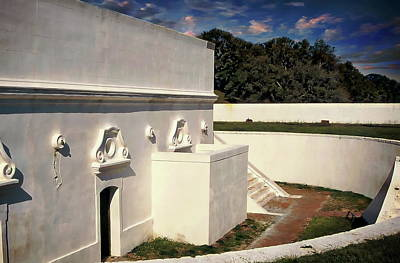 Photograph - Fort Barrancas by Anthony Dezenzio