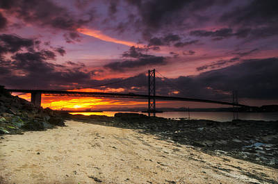 Photograph - Forth Road Bridge by Jean-Noel Nicolas