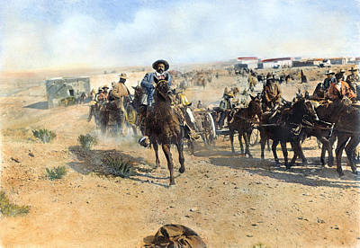 Photograph - Francisco Pancho Villa by Granger
