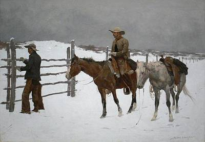 Frederic Remington Art Print