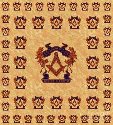 Lamborghini Cars - Freemason, Masonic, Symbols by Esoterica Art Agency