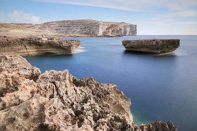 Maltese Photograph - Fungus Rock - Gozo by Joana Kruse