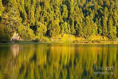 Furnas Photograph - Furnas Lake by Gaspar Avila