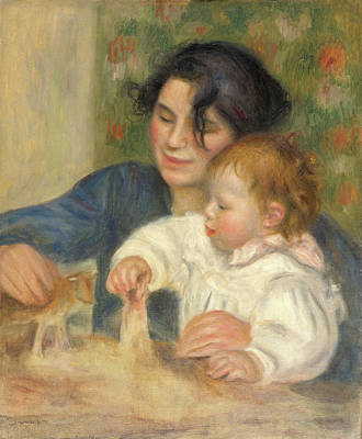 Painting - Gabrielle And Jean by Pierre-Auguste Renoir