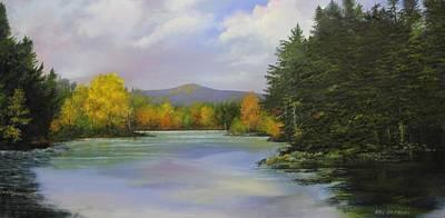 Gale Meadow Pond Art Print by Ken Ahlering