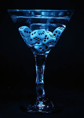 Martini Royalty-Free and Rights-Managed Images - Gamblers Martini by Michael Ledray