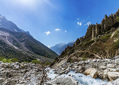 Photograph - Gangotri Valley by Nila Newsom