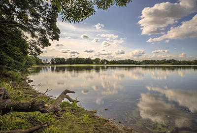 Photograph - Gartmorn Dam by Jeremy Lavender Photography