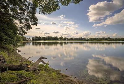 Photograph - Gartmorn Dam by Jeremy Lavender Photography