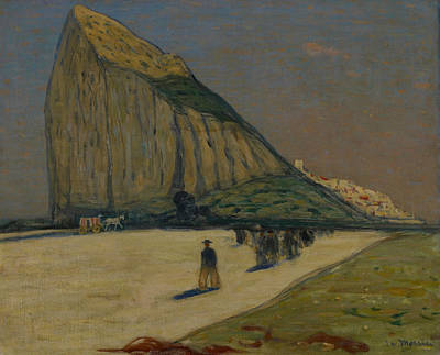 Painting - Gibraltar by James Wilson Morrice