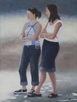 Painting - Girl Friends by Masami Iida