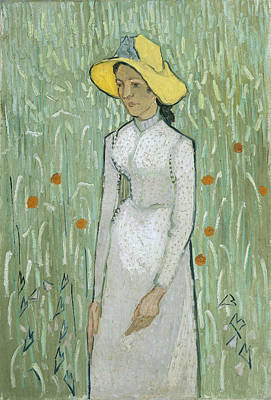 Painting - Girl In White by Vincent Van Gogh
