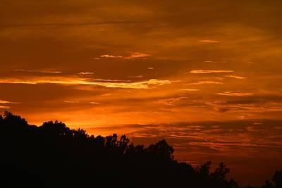 Photograph - Glorious Sunset by Kathryn Meyer