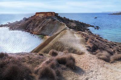 Maltese Photograph - Gnejna Bay - Malta by Joana Kruse