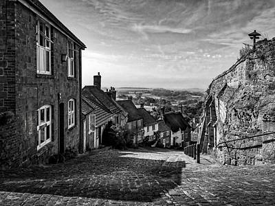 Thomas Kinkade Royalty Free Images - Gold Hill Shaftesbury Royalty-Free Image by Mark Llewellyn
