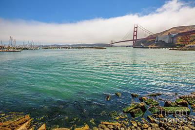 Photograph - Golden Gate Bridge Sausalito by Benny Marty