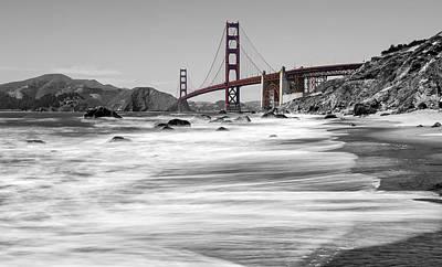 City Lanscape Photograph - Golden Gate Bridge by Stuart Monk