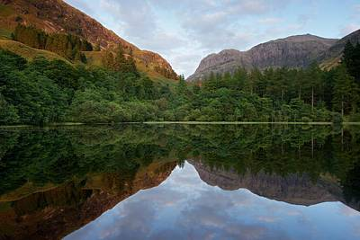 Photograph - Golden Light In Glencoe by Stephen Taylor