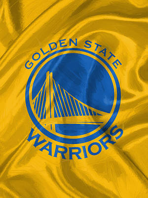 Ball Digital Art - Golden State Warriors by Afterdarkness