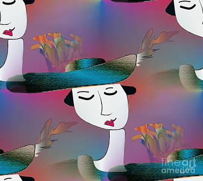 Digital Art - Grace by Iris Gelbart