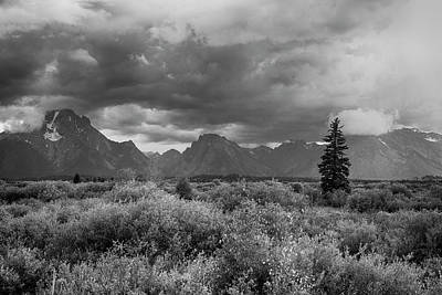 Photograph - Grand Tetons by Hugh Smith