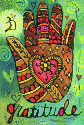 Mixed Media - Gratitude by Jennifer Mazzucco