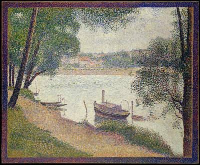 Gray Weather Grande Jatte Original by Georges Seurat