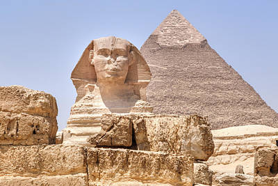 Egypt Photograph - Great Sphinx Of Giza - Egypt by Joana Kruse