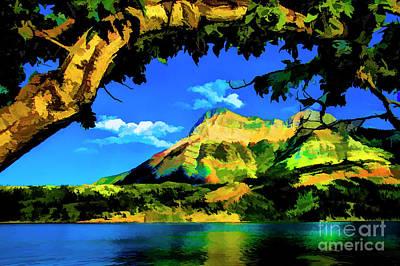 Photograph - Green Mountain by Rick Bragan