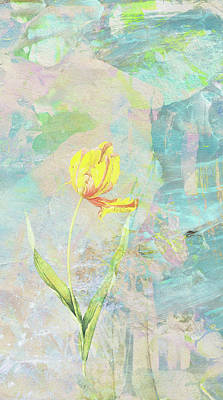 Grow With The Flow Art Print by James Piazza