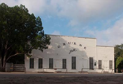 Photograph - Gruene Hall by Brian Kinney
