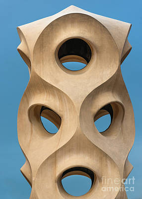 Photograph - Guadi's The Pedrera by Andrew Michael