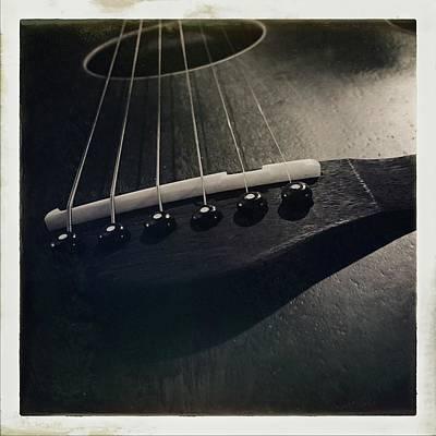 Photograph - Guitar by Anne Thurston