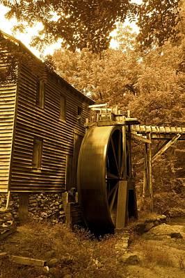 Wilderness Camping - Hagood Mill by Frank Conrad