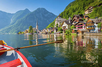 Photograph - Hallstatt by JR Photography