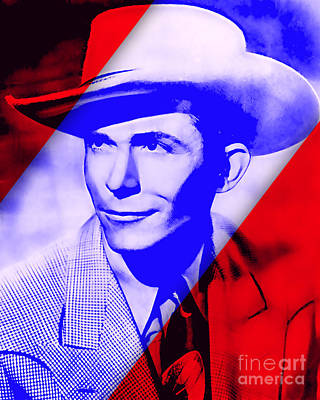 Mixed Media - Hank Williams Collection by Marvin Blaine