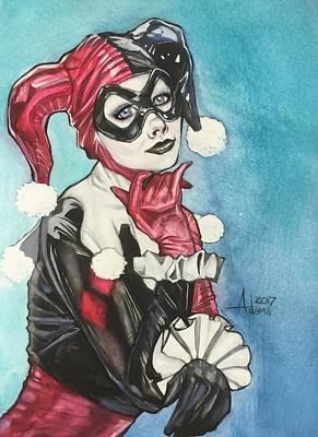 Painting - Harley Quinn by Jimmy Adams