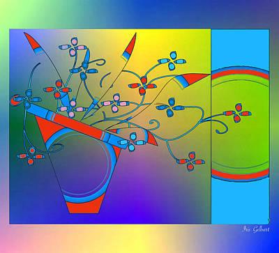 Digital Art - Harmony by Iris Gelbart