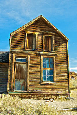 Photograph - Historic Bodie by Steven Lapkin