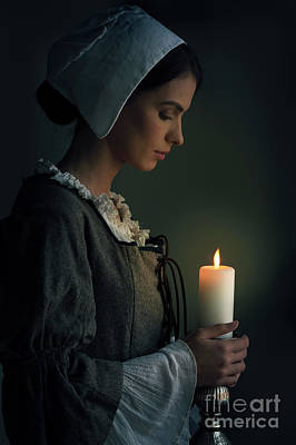 Photograph - Historical Maid Servant  by Lee Avison