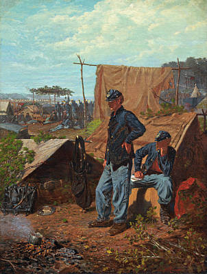 Painting - Home Sweet Home by Winslow Homer