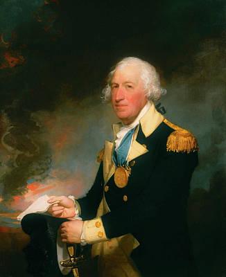 Painting - Horatio Gates by Gilbert Stuart