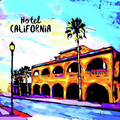 Hotel California Original by Ivan Guaderrama