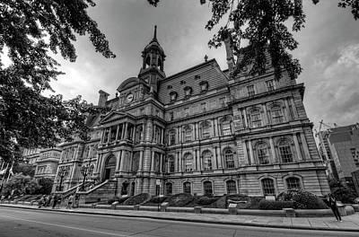 Historic Architecture Photograph - Hotel De Ville Montreal by Craig Fildes