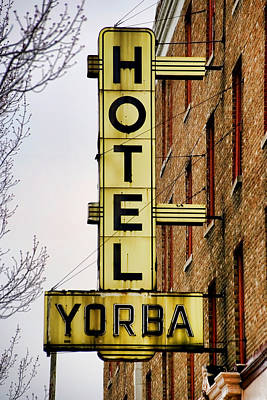 Hotel Yorba Art Print by Gordon Dean II