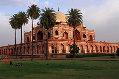 Photograph - Humayun's Tomb, New Delhi, India  by Aidan Moran