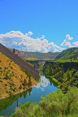 Photograph - Idaho Landscape by Dart Humeston