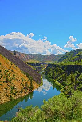 Art Print featuring the photograph Idaho Landscape by Dart Humeston