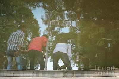 Photograph - 3 Idiots Friends by Kiran Joshi
