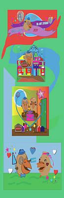 Painting - Illustratie by Bogdan Floridana Oana